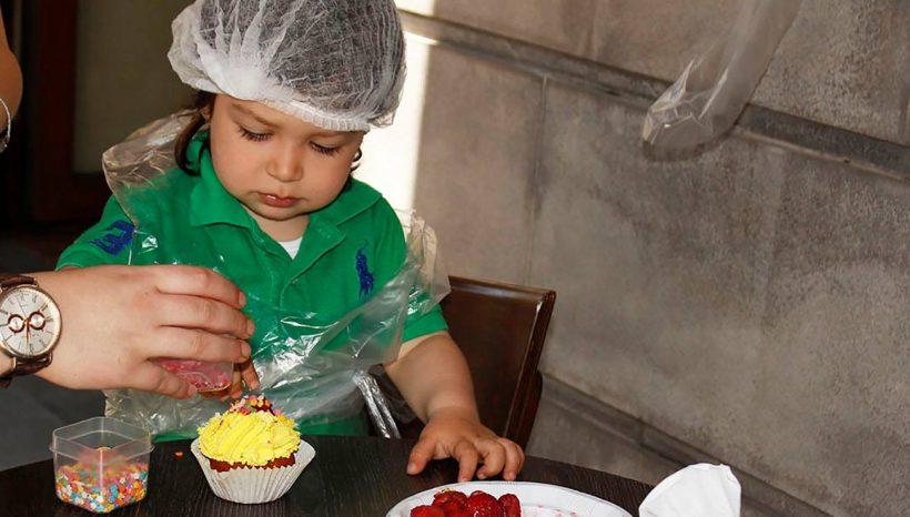 International Children's Day in Pasticceria